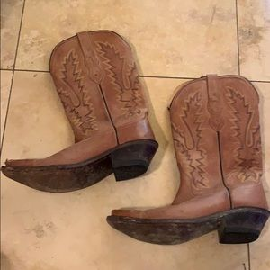 Women's Old West Leather Boot